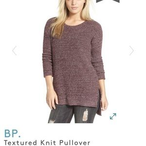 NWT- BP Textured Scoop Sweater (Size: Small)